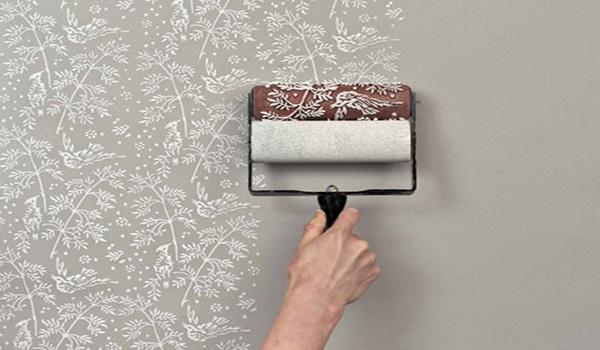 Нанесение фактурной краски