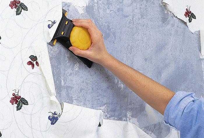 подготовка бетонной стены под обои