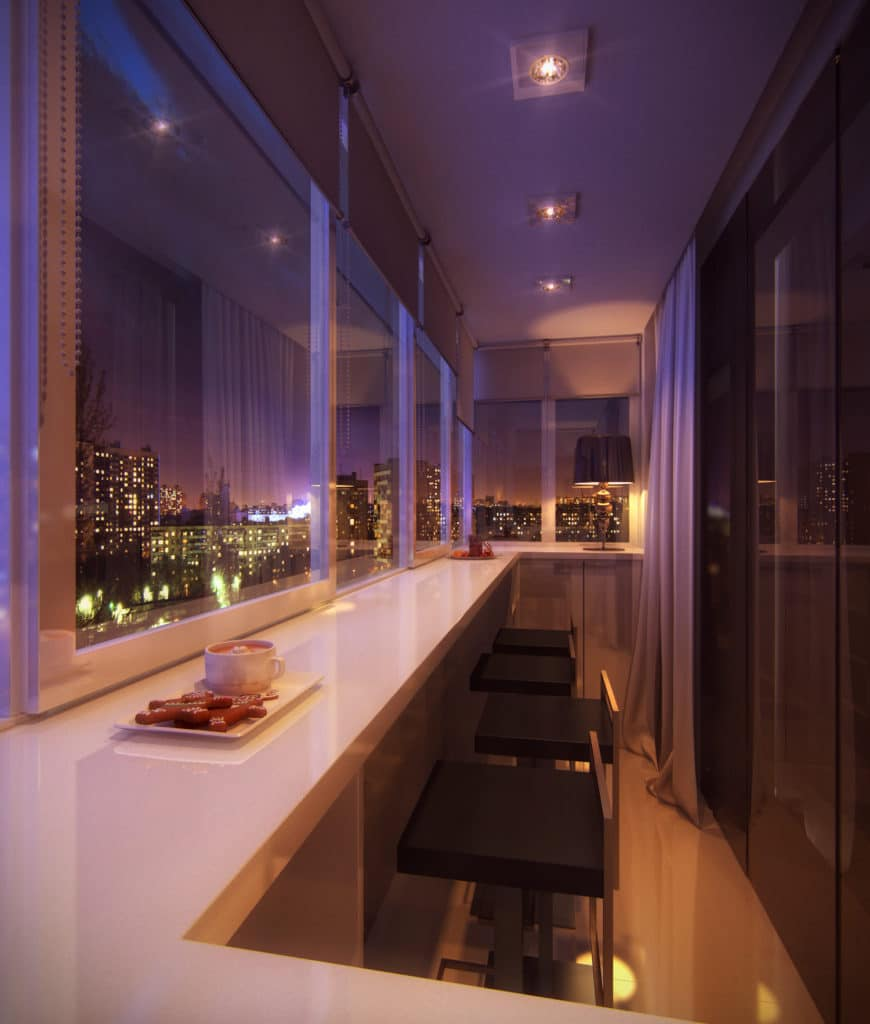 дизайн маленького балкона +в хрущевке фото