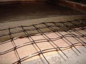 армирование бетонной стяжки пола
