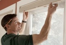 Как крепить жалюзи на пластиковые окна