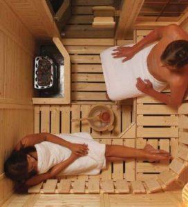 Размеры парилки в бане