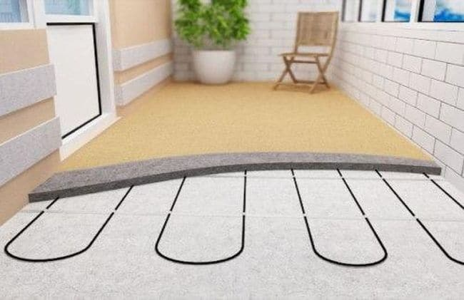 Утепление пола на лоджии (балконе). материал для утепления п.