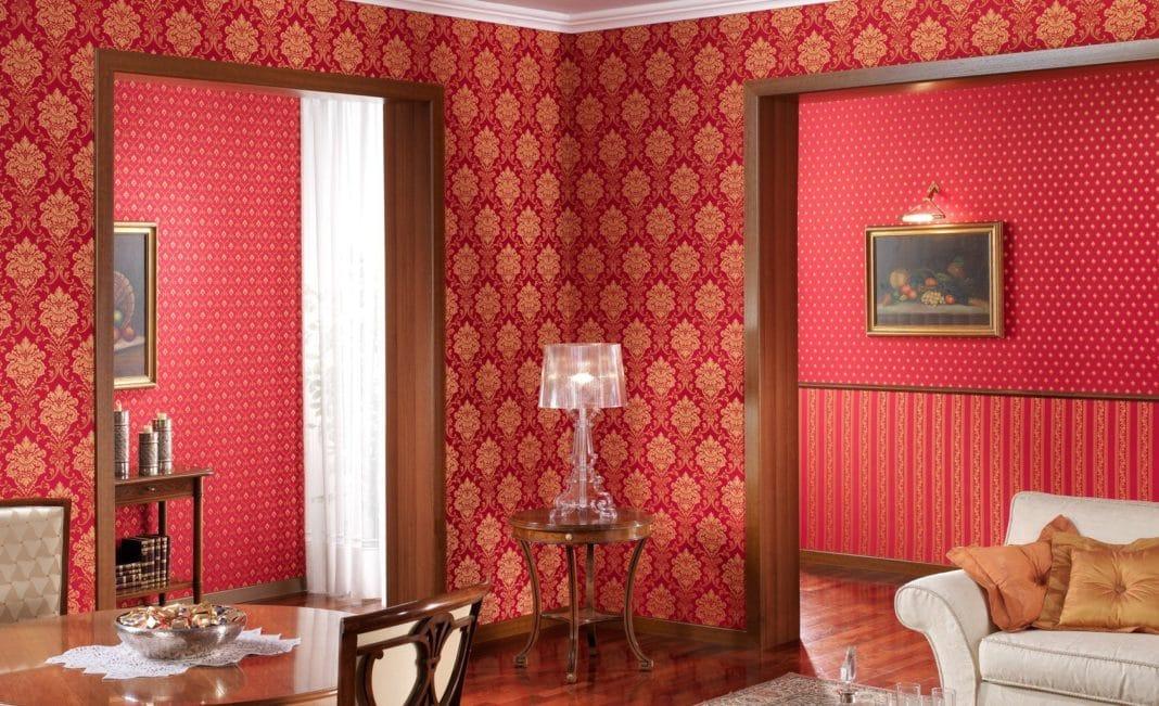 Отделка стен тканью своими руками - фото и технология отделки стен текстилем