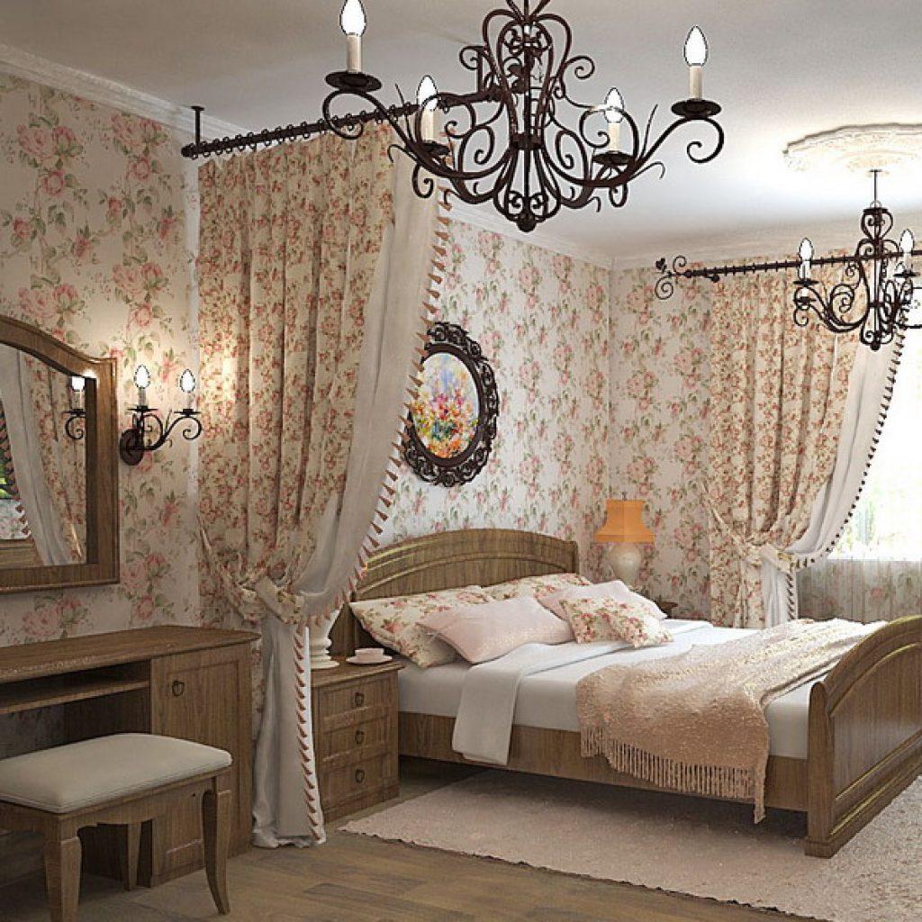 Декор шторы в комнате