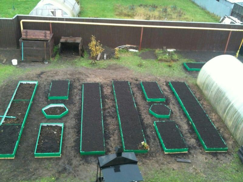 Ограждения для грядок и клумб для дачи, дома и сада