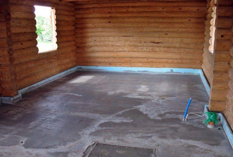 Деревянный пол в ванной комнате своими руками в деревянном доме 75