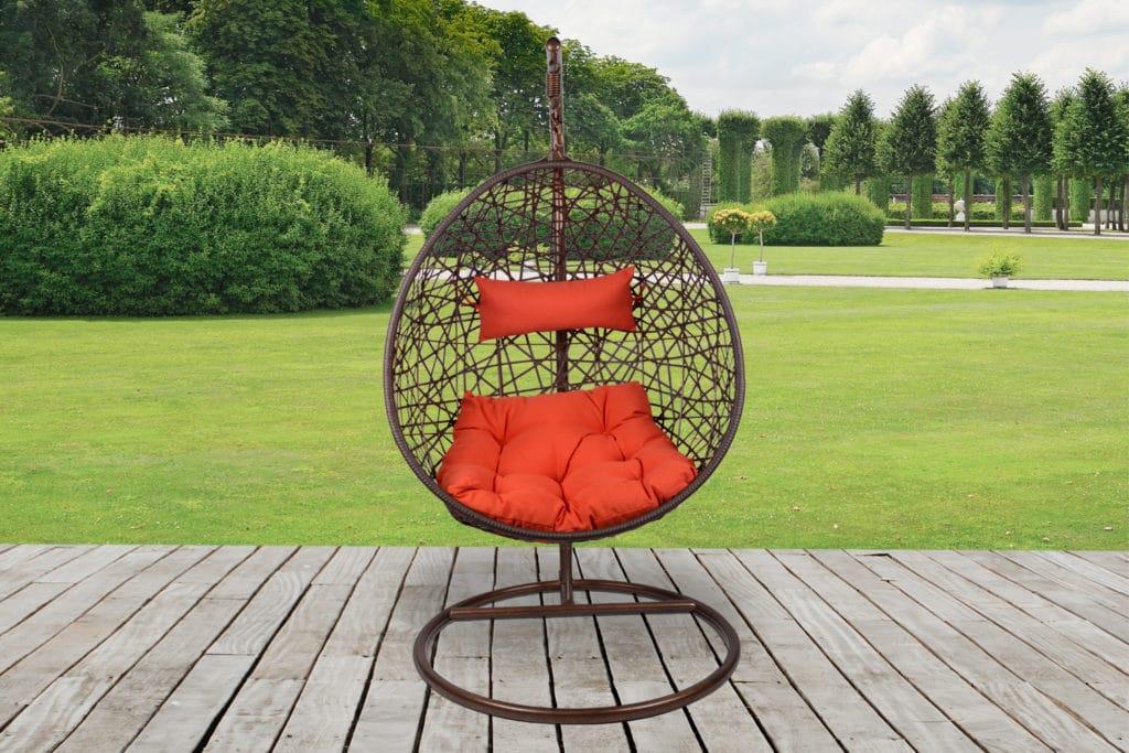 Плетеные подвесные кресла своими руками 123