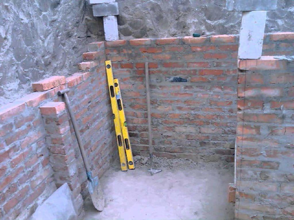 Строительство погреба в доме