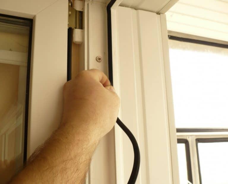 Установка балконных дверей своими руками 34