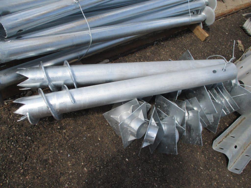 Винтовые сваи должны быть сделаны из качественной стали