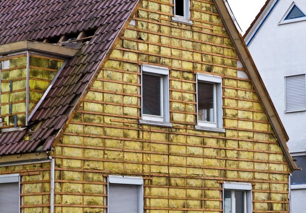 Утепление фасадов деревянных домов минватой