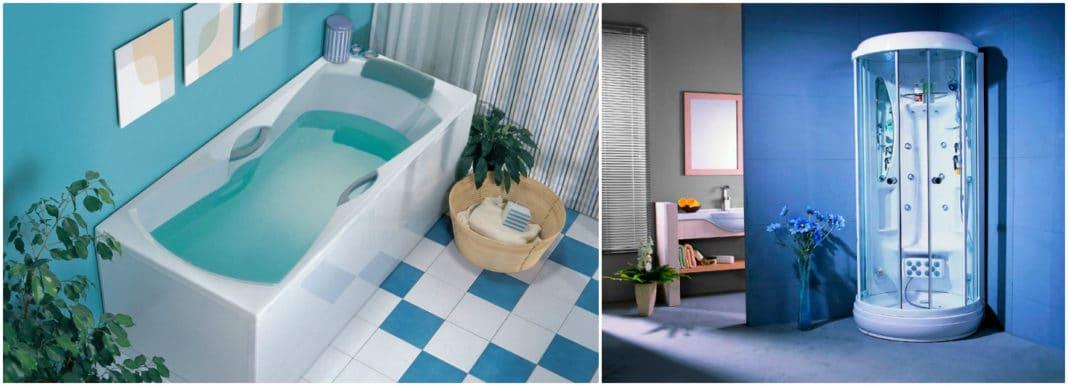 Ванна или душевая кабина: что лучше?