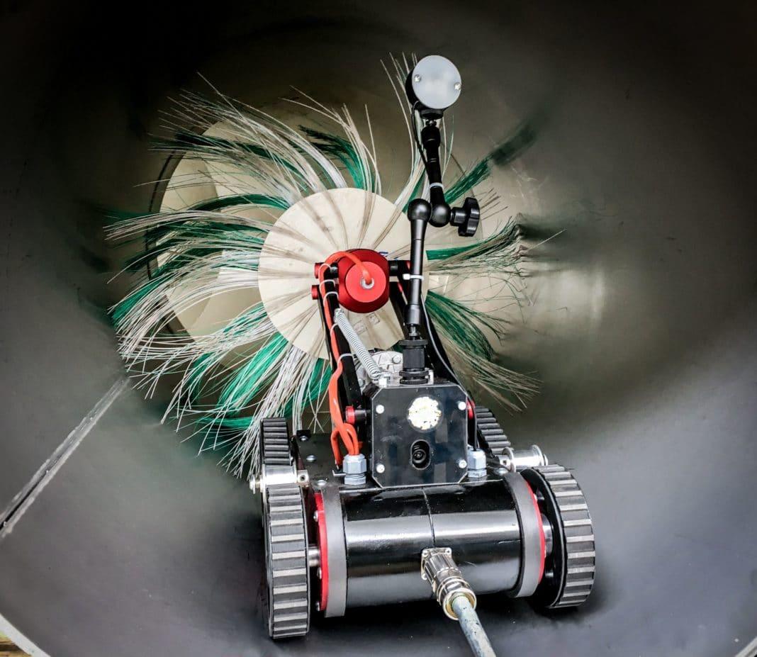 Компактный робот из Германии быстро очистит вентиляционные системы