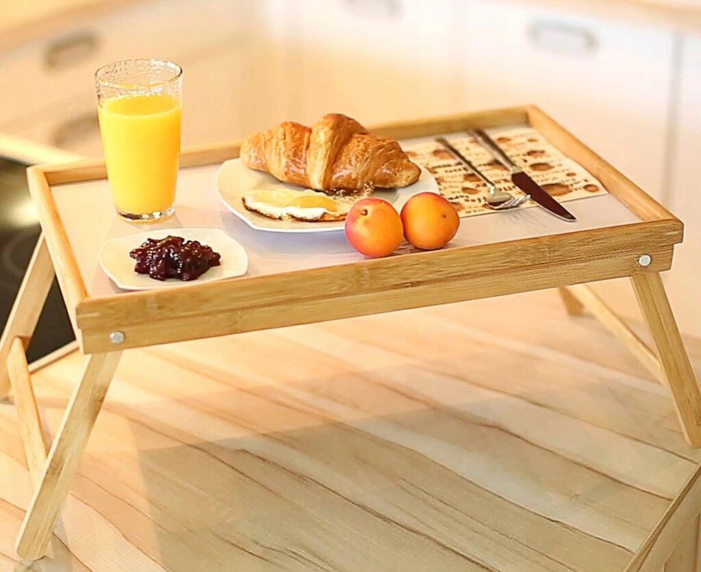 Столик для завтрака в постель своими руками: выбор материалов, пошаговая инструкция по изготовлению