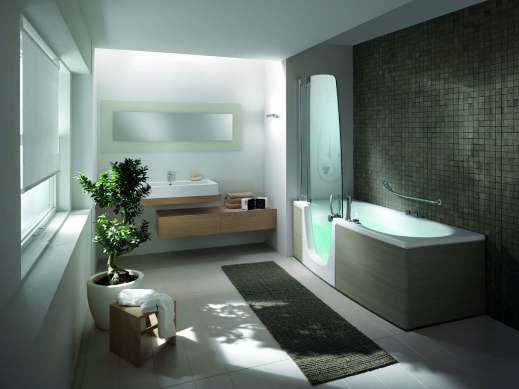 стиль в ванной комнате