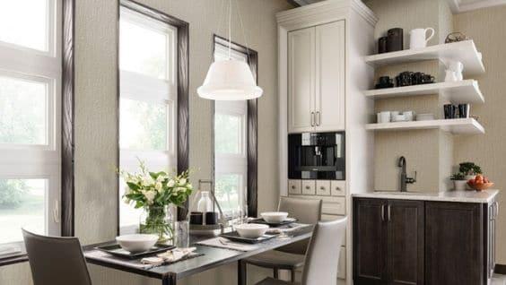 Отделка стен на кухне, варианты отделочного материала, дизайн