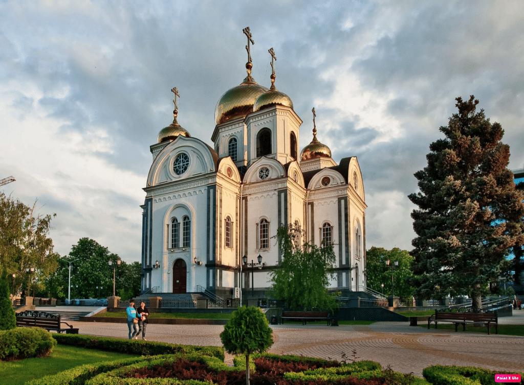 войсковой собор александра невского краснодар