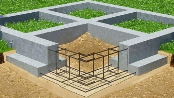 Расчет фундамента под кирпичный дом: полная и сезонная нагрузка
