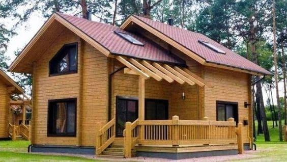 Из чего строить деревянный дом
