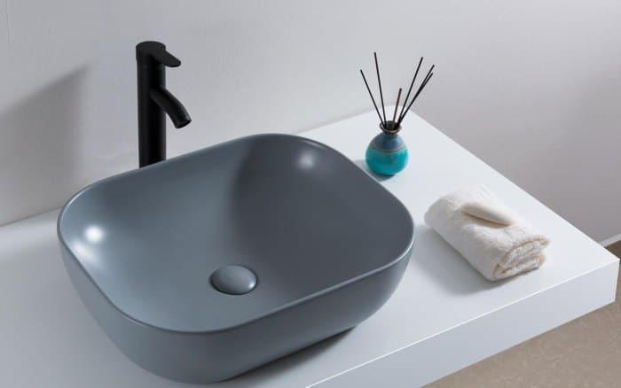 раковина накладная на столешницу в ванную комнату
