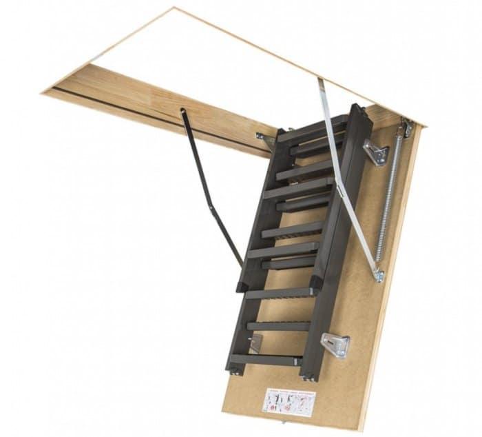 складные лестницы на чердак с люком