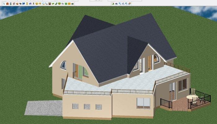 что такое дизайн проект фасада