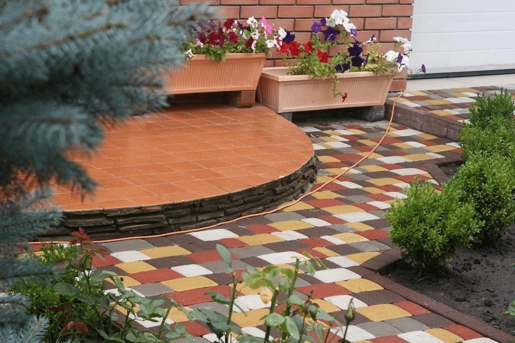 Тротуарная плитка в архитектурном облике