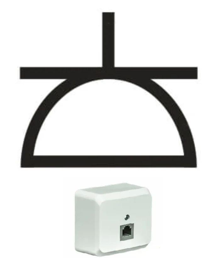 обозначение комьютеоной розетки на схеме электрической