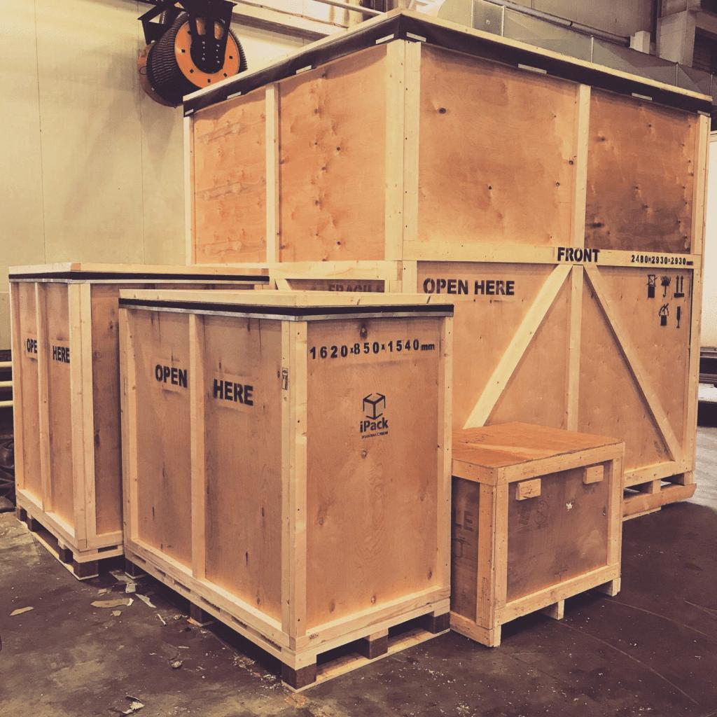 Упаковка промышленного оборудования