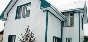 Обшивка стен и фасадов домов