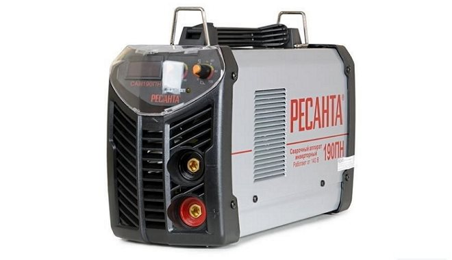 Инверторный аппарат от известного производителя Ресанта