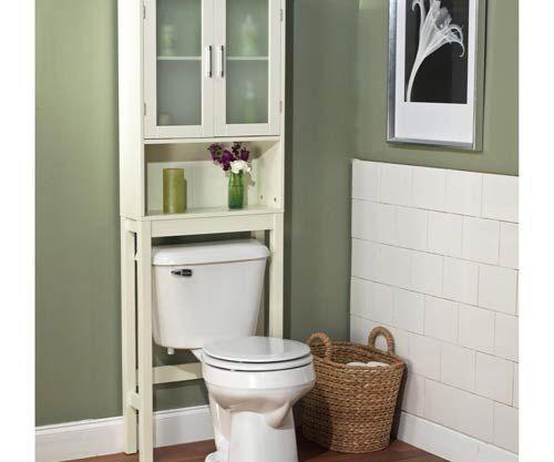 Фото – сантехнический шкаф в санузле