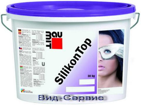 Готовая силиконовая смесь Baumit SilikonTop