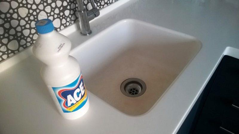 Чем можно почистить раковину из искусственного камня на кухне