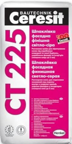 Шпаклевка «Ceresit СТ 225