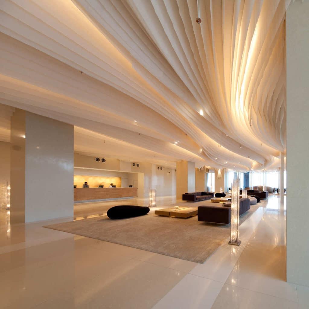 потолок из ткани