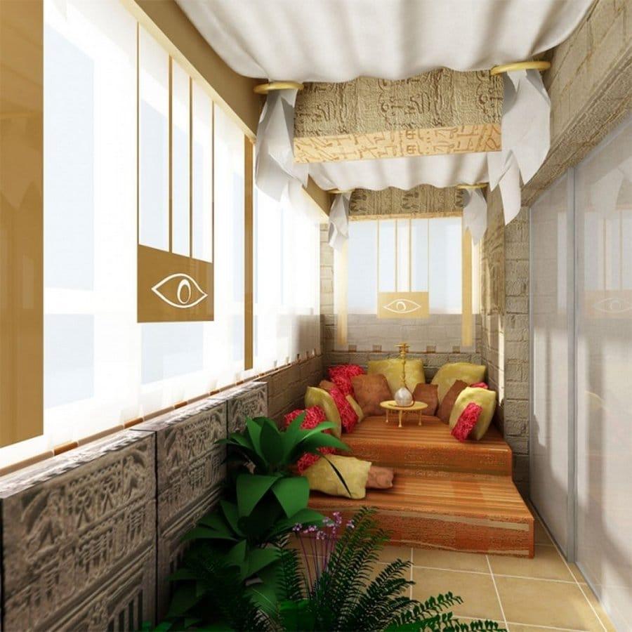 маленький балкон дизайн фото