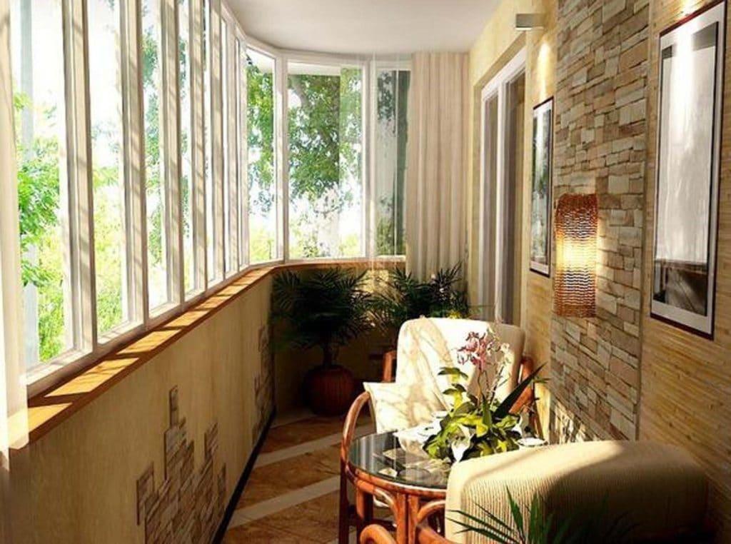маленький балкон фото