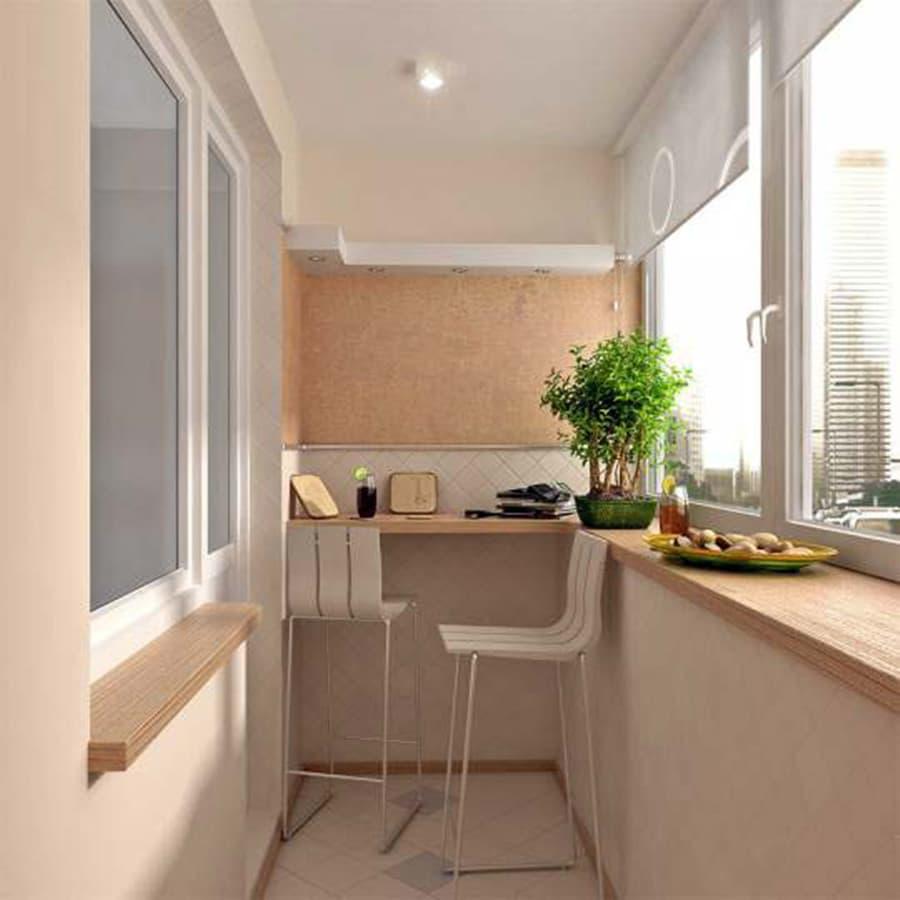 дизайн маленьких балконов 3 метра