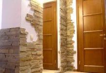 отделка углов в квартире декоративными уголками