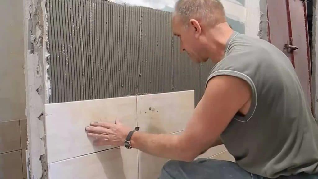 Подготовка стен под плитку