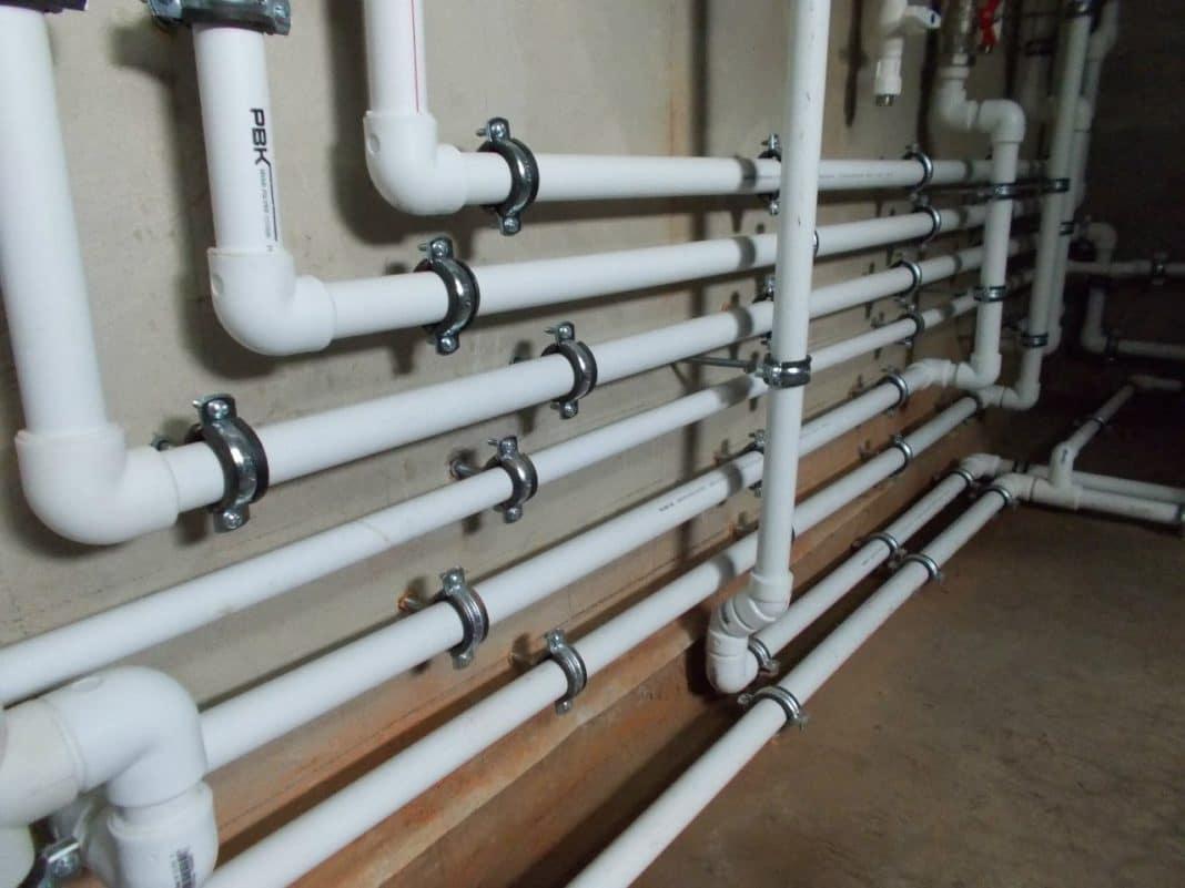 Водопровод трубы своими руками