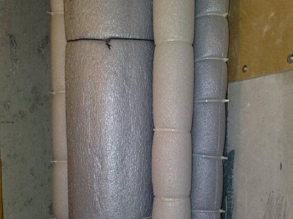 шумоизоляция канализационной трубы в туалете