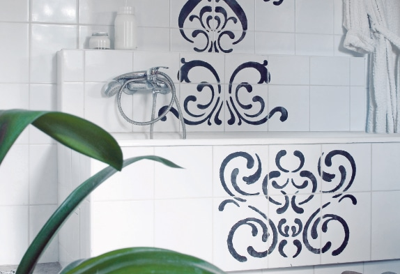 можно ли покрасить кафельную плитку в ванной