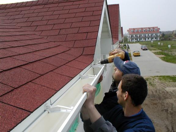 водостоки для крыши своими руками