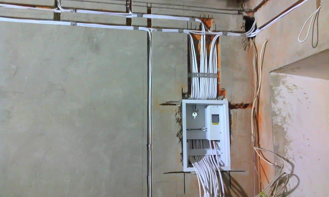 перенос розеток в панельном доме