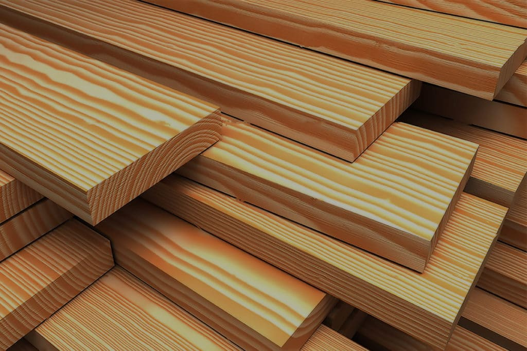 Древесина лиственницы - очень стабильный и прочный материал