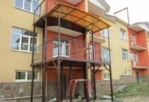 Способы, как пристроить балкон к дому