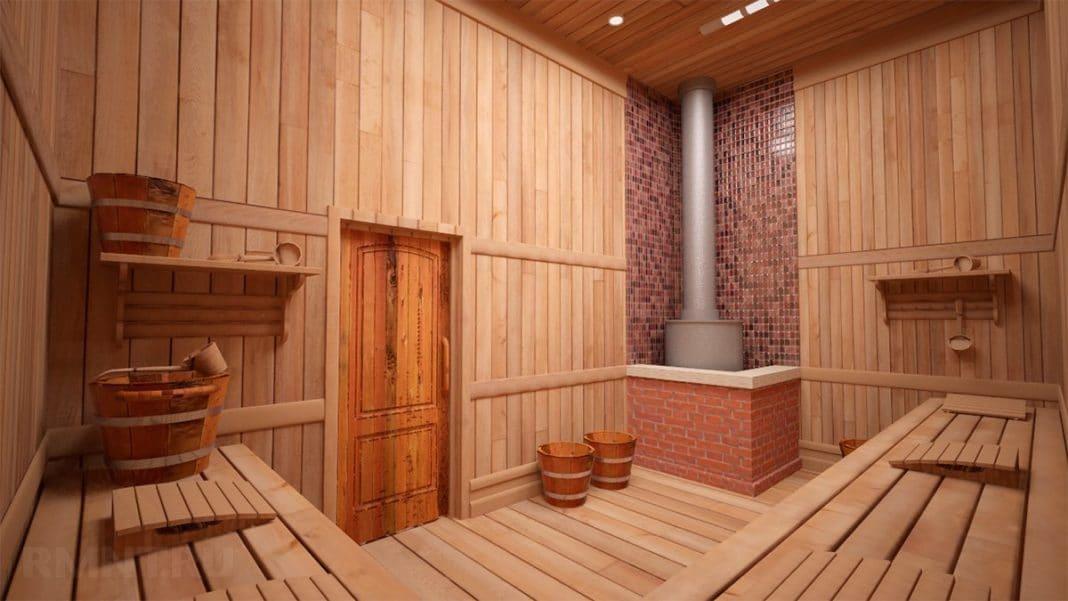 Как установить печь в бане своими руками